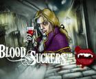 На зеркале автоматы Blood Suckers