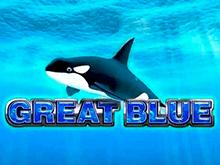 Great Blue - популярный онлайн игровой автомат от производителя Playtech