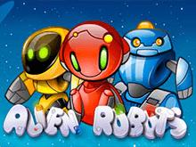 Виртуальная азартная игра с бонус-функциями - Alien Robots